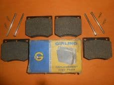 FORD CORTINA Mk3, Mk4, Mk5 (1970-82) GIRLING BRAKE PADS & BRAKE PAD PINS